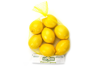 Lemon Header Bag