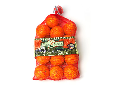 Navel Orange Mesh Bag