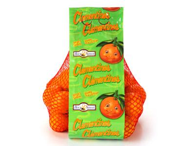 Mandarin-Clementine High Graphic Bag