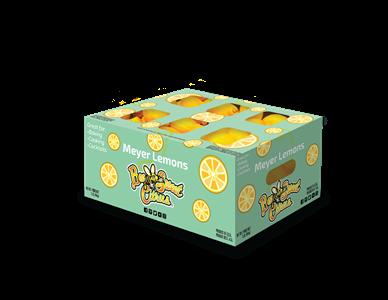 Meyer Lemon Half Carton - 18#