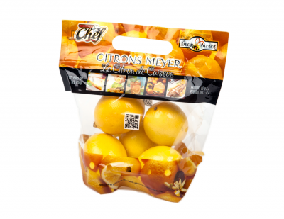 Meyer Lemon Pouch Bag