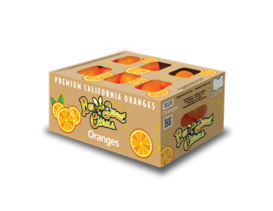 Orange Third Carton - 13#