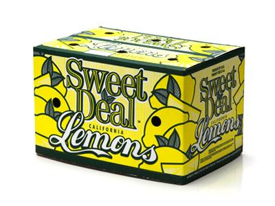 Lemon Carton Choice Grade