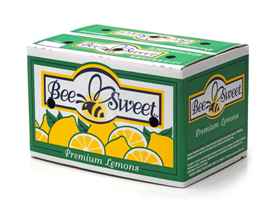 Lemon Carton Fancy Grade