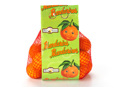 Mandarin High Graphic Bag