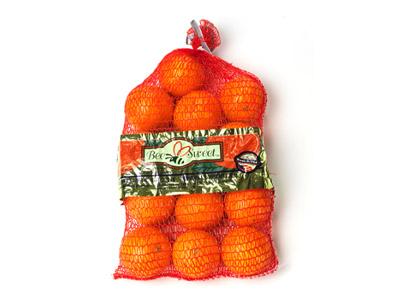 Navel Orange Mesh Bag