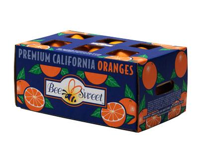 Navel Orange Third Carton